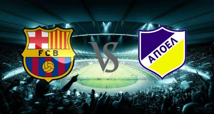 Prediksi Barcelona vs APOEL 18 September 2014